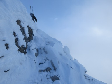 keiran , ptarmigan peak